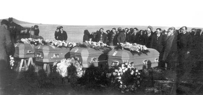Murdered members of the Haven family were buried together in Schafer Cemetery