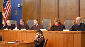 On Wednesday evening the  Justices heard moot court final arguments.