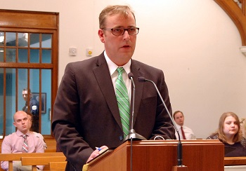 Assistant Grand Forks County State's Attorney Jason McCarthy responds to Thornton's arguments.